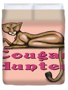 Cougar Hunter Duvet Cover