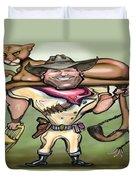 Cougar Trainer Duvet Cover by Kevin Middleton