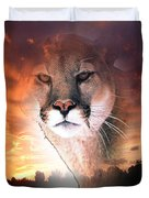 Cougar View Duvet Cover