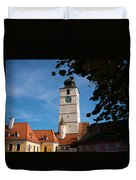 Council Tower Duvet Cover