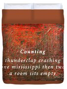 Counting Duvet Cover