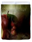 Country Apples Duvet Cover
