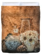 Country Chicken 2 Duvet Cover
