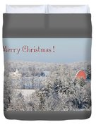 Country Christmas Duvet Cover