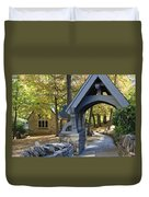 Country Churchyard Duvet Cover