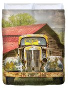 Country Cousins In The Smoky Mountains Duvet Cover
