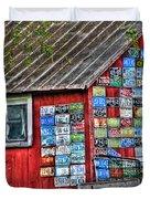 Country Graffiti Duvet Cover
