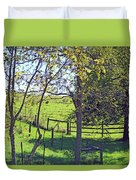 Country Green Duvet Cover