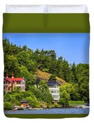 Country Homes Duvet Cover