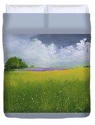 Country Landscape Duvet Cover