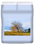 Country Life Artististic Rendering Duvet Cover