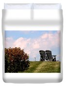 Country Life - Evening Relaxation Duvet Cover