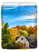 Country Living 2 - Paint Duvet Cover