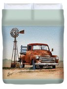 Country Memories Duvet Cover