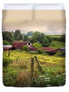 Country Morning Duvet Cover