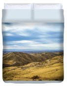 Country Mountain Roads No. 2 Duvet Cover