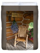 Country Porch Duvet Cover