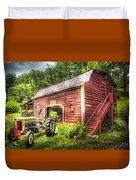 Country Reds Duvet Cover