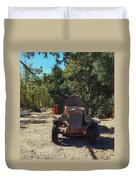 Country Road In California  Duvet Cover