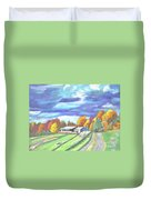 Country Road Duvet Cover
