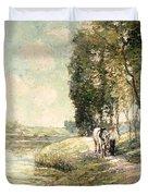 Country Road To Spuyten Duvet Cover
