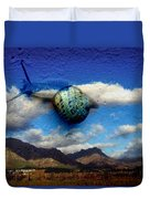 Country Snail Duvet Cover