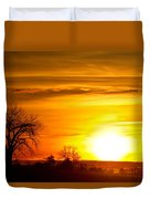 Country Sunrise 1-27-11 Duvet Cover