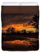 Country Sunset Duvet Cover