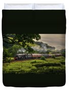 Country Train Ride Duvet Cover