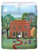 Country Visit Duvet Cover
