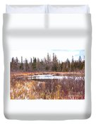Country Winter 11 Duvet Cover