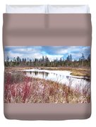 Country Winter 12 Duvet Cover