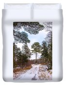 Country Winter 14 Duvet Cover