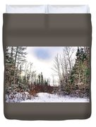 Country Winter 5 Duvet Cover