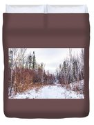 Country Winter 6 Duvet Cover