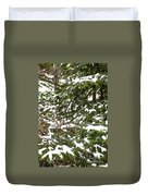 Country Winter 8 Duvet Cover