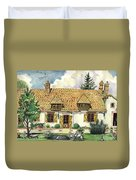 Countryside House In France Duvet Cover