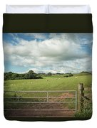 Countryside In Wales Duvet Cover