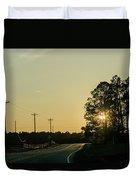 Countryside Sunset Duvet Cover