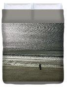 Couple Seascape Duvet Cover