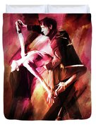 Couple Tango Art Duvet Cover