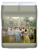 Court Ball At The Hofburg Duvet Cover by Wilhelm Gause