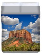 Courthouse Butte Duvet Cover