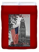 Courthouse In America Duvet Cover