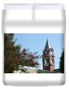 Courthouse In Spring Duvet Cover