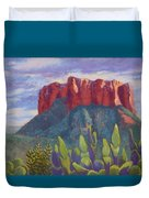 Courthouse Rock Duvet Cover