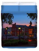 Courthouse Square Duvet Cover