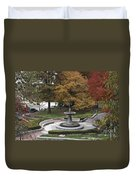 Courthouse Square In Rockville Maryland Duvet Cover