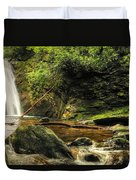 Courthouse Waterfall Duvet Cover