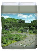 Courtyard Afternoon Duvet Cover